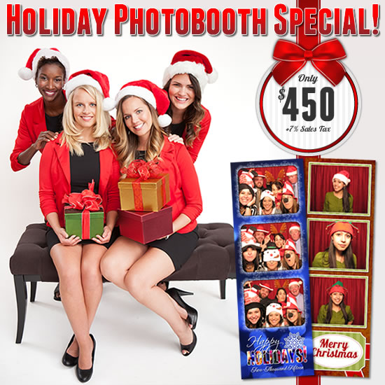 Holiday Photobooth Special!