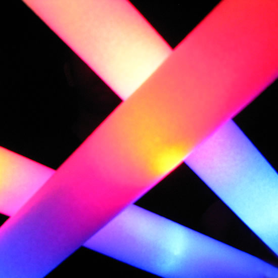Foam LED Glow Batons
